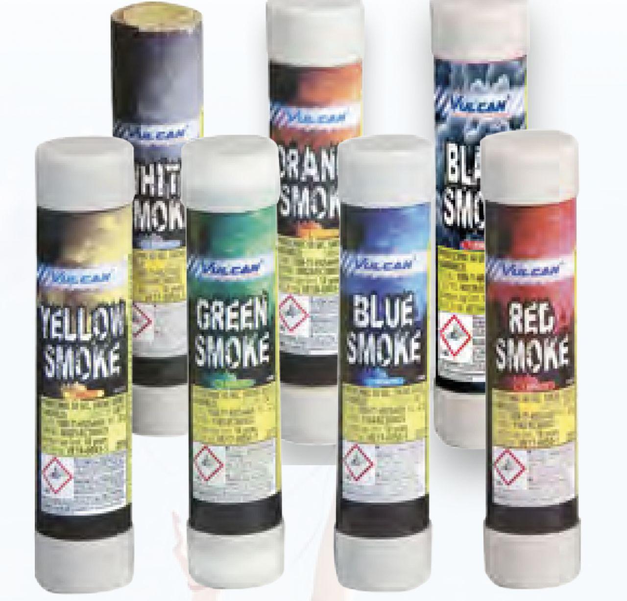 Bengal Torches & Colour Smoke Pyro